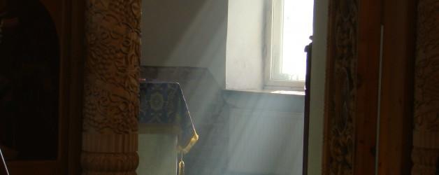 Воздвижение Креста, Литургия. 26-27.09.2012