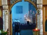 Воздвижение Креста, Вечернее богослужение. 26-27.09.2012