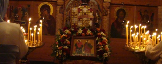 Престольный праздник — день памяти свв.Космы и Дамиана 14.11.2012