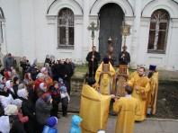 Престольный праздник святых бессребренников и чудотворцев Космы и Дамиана 14.11.2013